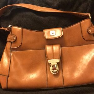 Liz Claiborne. Leather.